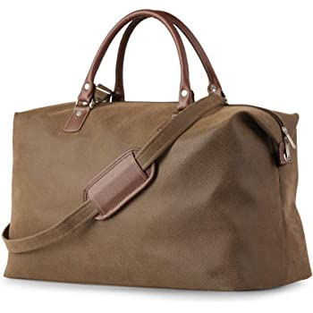 PU Leather Travel Duffle Bag  6f94088278331