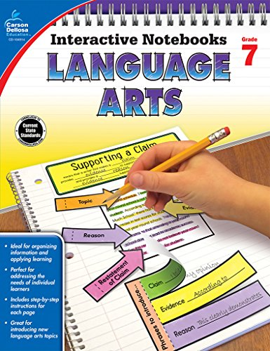 e-Books Collections Language Arts, Grade 7 (Interactive Notebooks)
