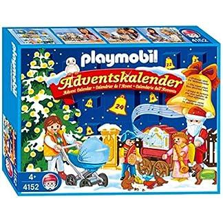 PLAYMOBIL 4152 – Calendario de Adviento Christmas in The Park [Importado de Alemania]