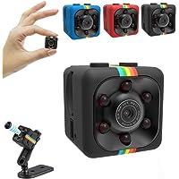 SAFETYNET Spy Cameras SQ11 Hidden Camera 1080P Small Wireless Camera,Video Recorder,Tiny Covert Cam Security Home Camera…