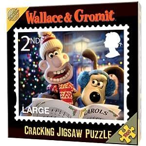 Cheatwell Games Wallace & Gromit 2nd Class Xmas Stamp 1000 Piece Jigsaw
