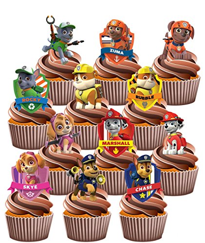 paw-patrol-party-pack-36-cup-cake-toppers-edible-stand-up-decorations