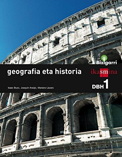 Geografia eta historia. DBH 1. Bizigarri - 9788498553482
