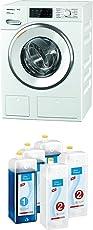 Miele WWI 660 WPS TDosXL&WiFi Waschmaschine Frontlader/ A+++/ 1600 UpM/ 9 kg/ TwinDos + Kartuschenset UltraPhase 1 und 2 Waschmaschinenzubehör