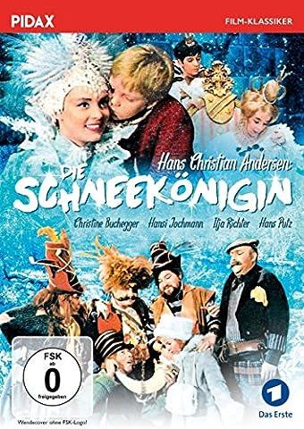 Die Schneekönigin / Zauberhafte Märchenverfilmung nach Hans Christian Andersen von Wolfgang Spier mit Starbesetzung (Pidax Film-Klassiker)