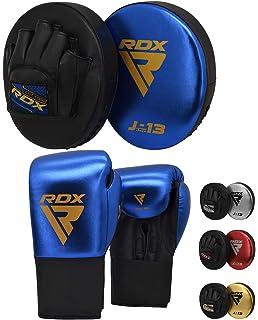 Handpratzen Pratze Boxen Boxing Kickboxen Muay Thai mit Schlagkissen Kickschild