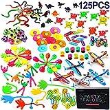Amy&Benton 123 Stück Mitgebsel Kleinspielzeug Kindergeburtstag Party Tombola Party Gastgeschenke Geburtstagsgeschenk Pinata Füllstoffe für Jungen & Mädchen