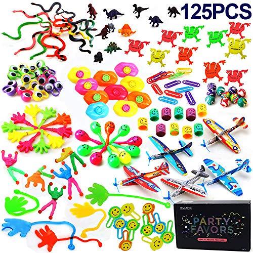 Amy&Benton Surtido de 125 juguetes para rellenar piñatas y bolsas de regalo...