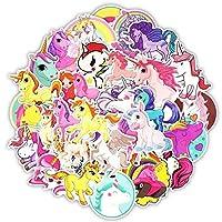 yunkanda 50Pcs Cartoon Dinosaur Sticker Unicorn Flamingo Unicorn Toy For Children Waterproof Stickers To Diy Scrapbooking Motorcycle Desk