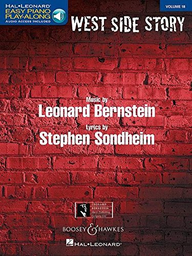 WEST SIDE STORY (Hal Leonard Easy Piano Play-Along) por LEONARD BERNSTEIN