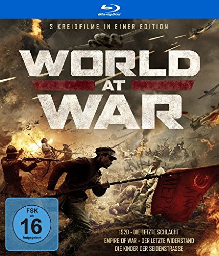 World at War - 3 Kriegsfilme in einer Edition [Blu-ray]
