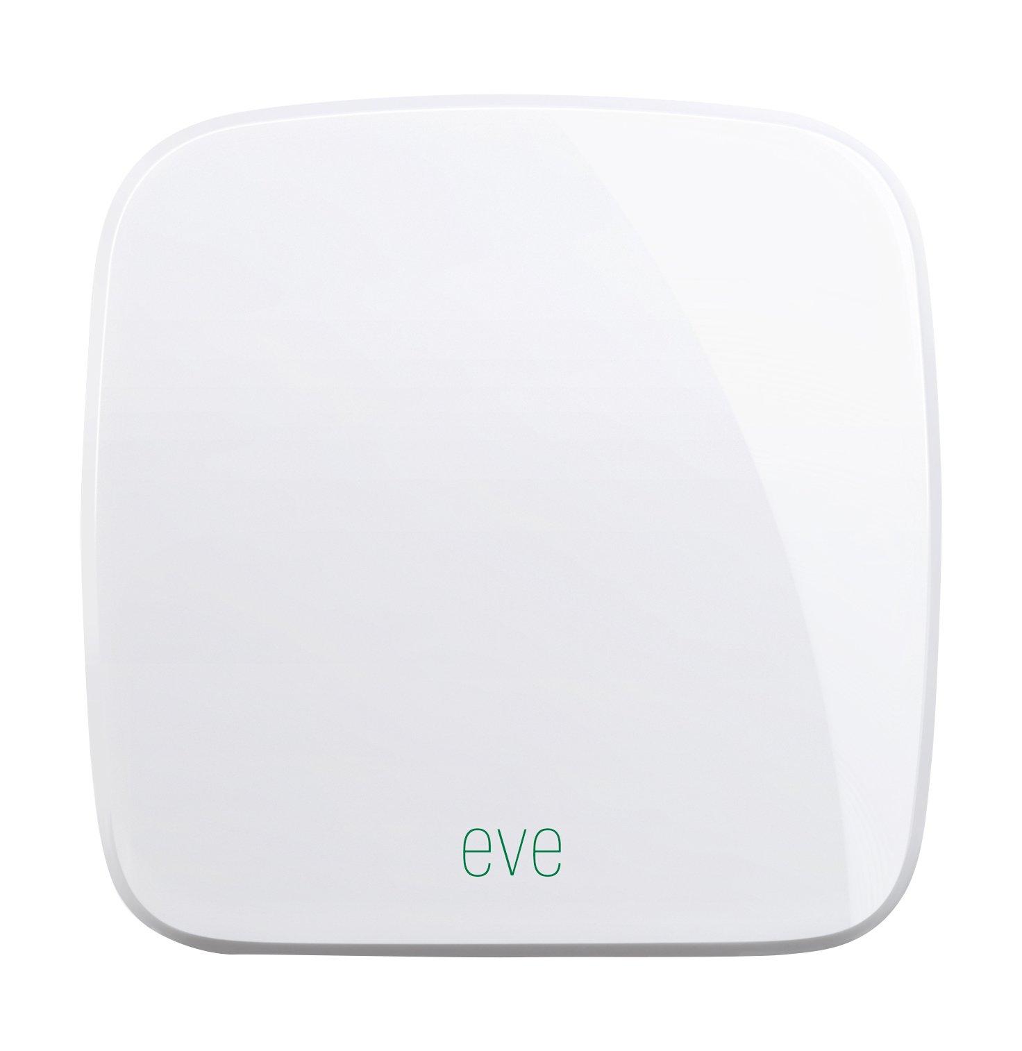 Elgato Eve Weather (Première Génération) – Capteur extérieur sans fil avec technologie HomeKit d'Apple, Bluetooth Low Energy