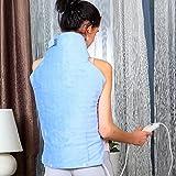 Syntrox Germany XXL Extra Breites 100 Watt 3 Wärmestufen Heizkissen Heizdecke für Rücken, Nacken und Schulter Wärmekissen, Wärmedecke. Gibt es einen noch besseren Rückenwärmer zu kaufen