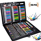 150 Crayon de Couleur Enfant - couleurs uniques - crayon de couleurs professionnel - kit peinture enfants - Set idéal pour artistes, adultes et enfants
