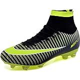 BOLOG Zapatos de Fútbol Hombre Spike Aire Libre Profesionales Atletismo Training Botas de Fútbol Ligero Tacos Futbol Zapatos