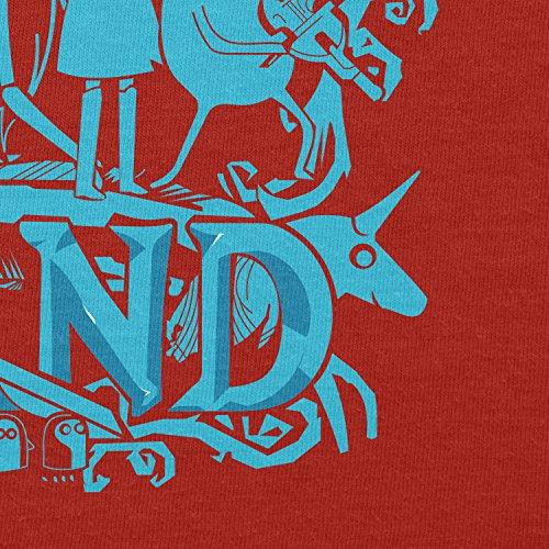 Texlab–Genuine Band–sacchetto di stoffa Rot