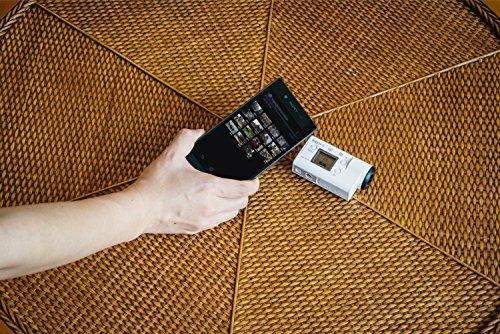 Sony FDR-X3000R 4K Action Cam mit BOSS (Exmor R CMOS Sensor, Carl Zeiss Tessar Optik, GPS, WiFi, NFC) mit RM-LVR3 Live View Remote Fernbedienung, weiß - 32