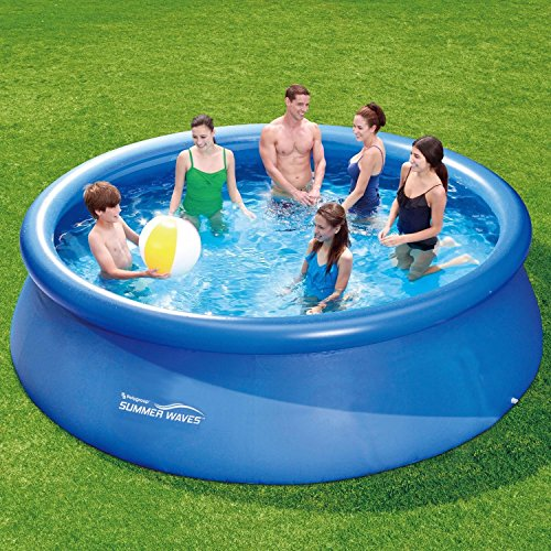 Summer Waves Fast Set Quick Up Pool 366x91cm Swimming Pool Familien Schwimmbad -