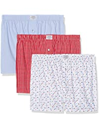 Springfield Pack 3 Red Blue, Boxer Homme