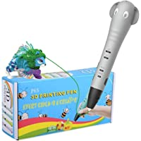 REES52 Intelligent 3D Pen 3D Printing Drawing Printer Pen for Arts and HandCrafts DIY for Kids and Adults. Compatible…