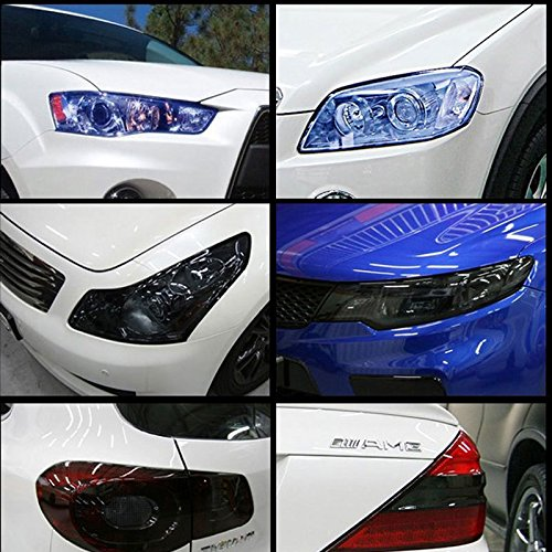 Preisvergleich Produktbild brighters (TM) Wasserdicht 12Farben Auto Aufkleber Scheinwerfer Auto Rücklicht Aufkleber Tönung Vinyl Folie Blatt Auto Zubehör für die Auto Dekoration Aufkleber