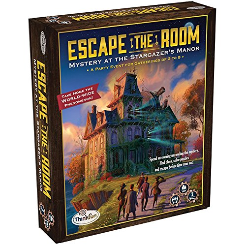 ThinkFun - Escape The Room: Misterio en la mansión del observatorio (TF7351)