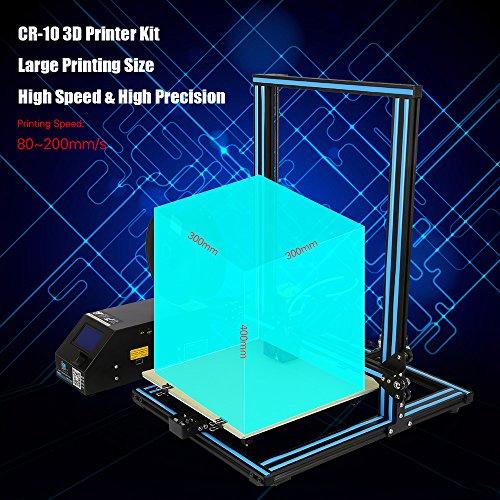 Creality-CR-10-Imprimante-3D-en-aluminium-Taille-dimpression-300-300-400mm-avec-200g-PLA-Support-PLA-ABS-TPU-cuivre-bois-fibre-de-carbone-filament-Orange