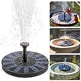 Solare Fontana Pompa, ikalula Solare Pannello Galleggiante Fontana per Bird Bath, Piccolo stagno, Decorazione del Giardino