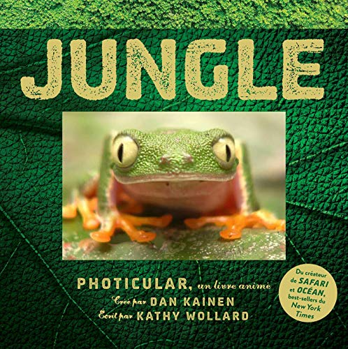 Jungle : Photicular, un livre animé par
