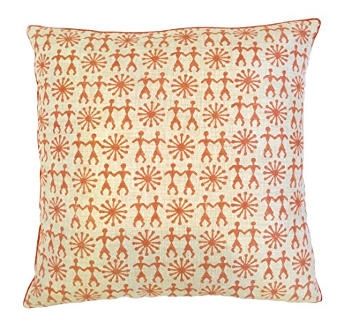 the-indian-promenade-16-x-16-cm-en-coton-melange-warli-housse-de-coussin-motif-pastel-orange-beige
