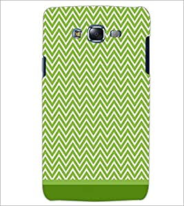PrintDhaba Zig Zag Pattern D-1694 Back Case Cover for SAMSUNG GALAXY ON 5 (Multi-Coloured)