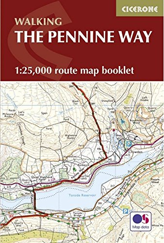 Pennine Way Map Booklet: 1:25,000 OS Route Mapping (British Long Distance) por Paddy Dillon