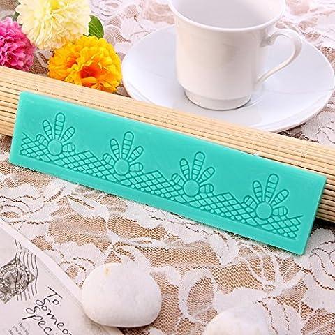 aliciashouse pizzo decorativo Stampi fondente zucchero Craft Stampo per dolci in silicone