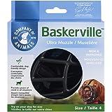 Baskerville Ultra Museau, Noir (Noir), Taille 4 (Longueur:9 cm/Largeur: 32 cm)