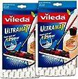 2x Vileda Ultramat 27x14,5x2,5 cm - Wischmop Wischbezug Ersatzbezug
