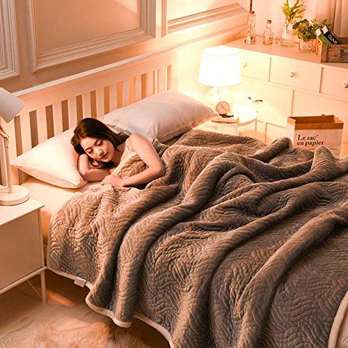 LJ&XJ Weiche dicke decken,Throw blanket machine waschbar komfortable queen König Full size für alle jahreszeiten bett couch camping oder reisen-C 120x200cm(47x79inch) (Full-size-bett Für Kleinkind)