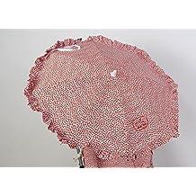 Sombrilla para silla de paseo + flexo universal. Parasol flor roja