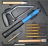 SW-Stahl Einlage für Metall bearbeitung 11 teilig, Z2566-3