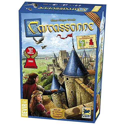Devir - Carcassonne, Juego de Mesa (versión en catalán)