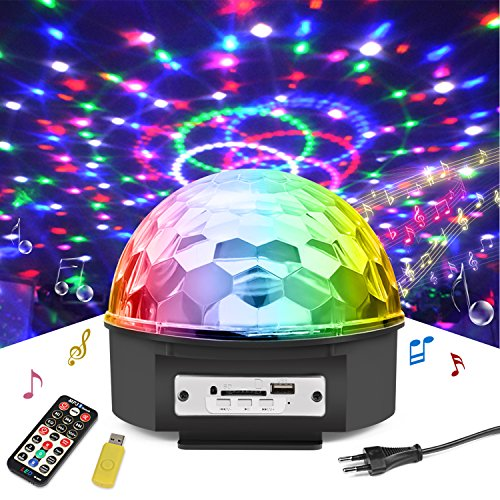 lampe de sc ne pour disco rgb led commande sonore jeux de lumi re disco projecteur effet spot dj. Black Bedroom Furniture Sets. Home Design Ideas