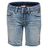 LEGO Wear Mädchen Shorts Lego Girl Pippa 304, Blau (Light Denim 15), 128