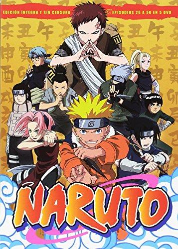 Naruto Box 2 Episodios  26 Al  50 [DVD]