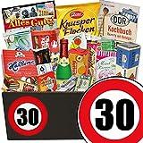 30. Geburtstag | Ostpaket | mit Trabi Puffreis Schokolade, Butterkeks Original Wittenberger und mehr | GRATIS DDR Kochbuch | Süße Geschenkboxen