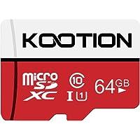Kootion Speicherkarte 64GB Class 10 Micro SD Karte Mini SD Karte 64G MicroSDXC Card Memory Karte A1 U1 UHS-I Micro SD…