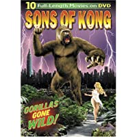 Sons of Kong: 10 Full-Length Movies on 3-DVDS