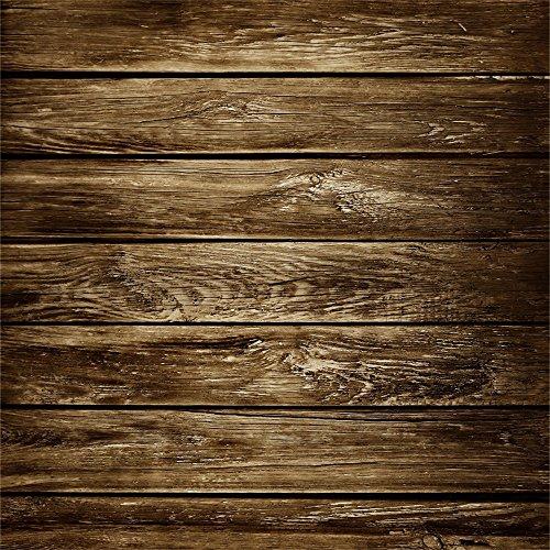 YongFoto 1,5x1,5m Vinyl Foto Hintergrund Holz Brett Grunge Holz Distressed Shabby Chic HolzHolz Bretter Fotografie Hintergrund für Photo Booth Baby Party Banner Kinder Fotostudio Requisiten