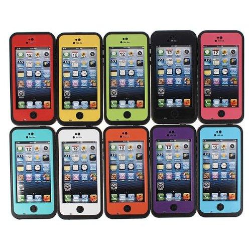 Sous la neige Dirt eau Case extŽrieure dure Žpreuve pour l'iPhone 5C bleu