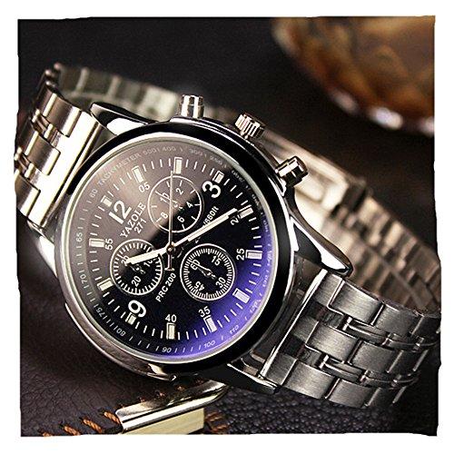 geniessen-orologio-analogico-al-quarzo-da-uomo-in-metallo-e-silicone-vetro-blu-ray