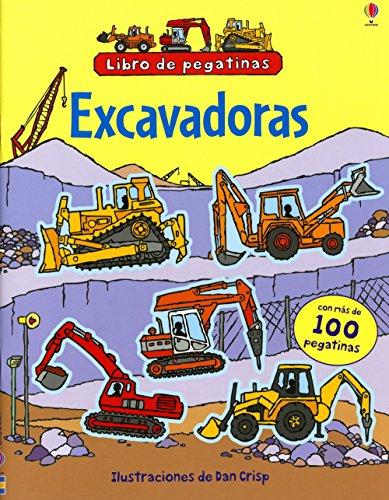 Excavadoras (Libros De Pegatinas)
