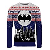 DC Comics Batman Weihnachtspullover Gotham City